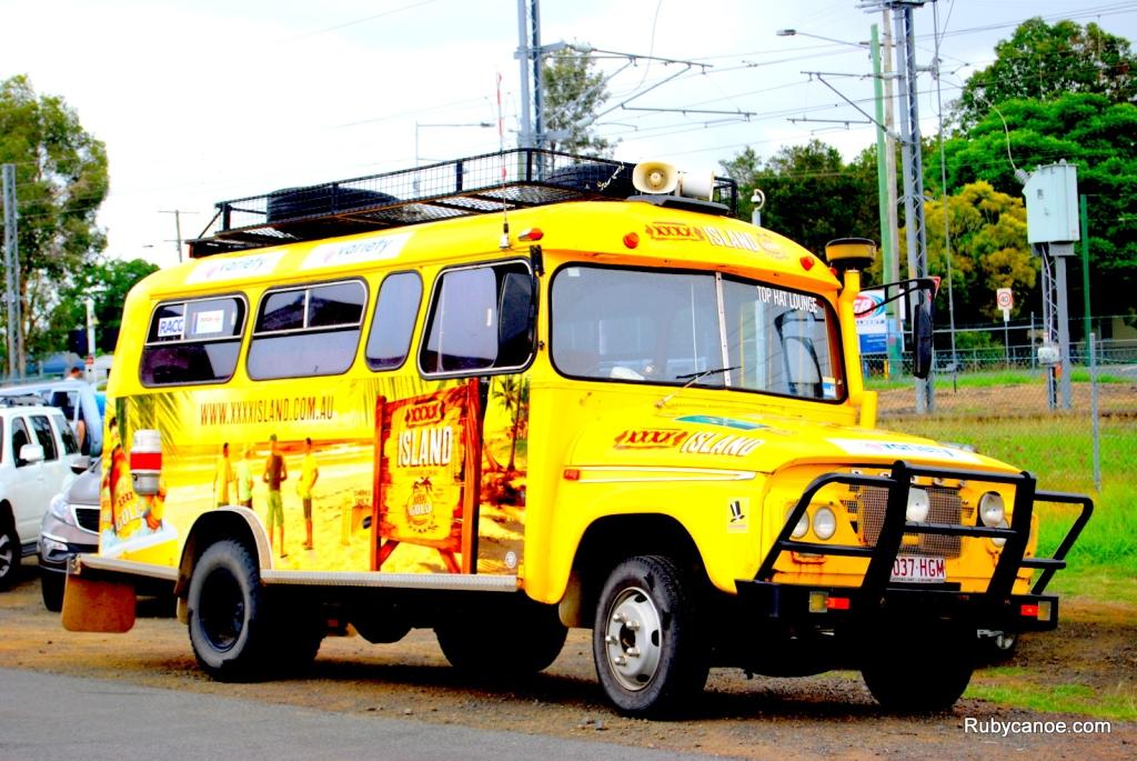 Fourex (XXXX) Beer Bus Rosewood, Queensland