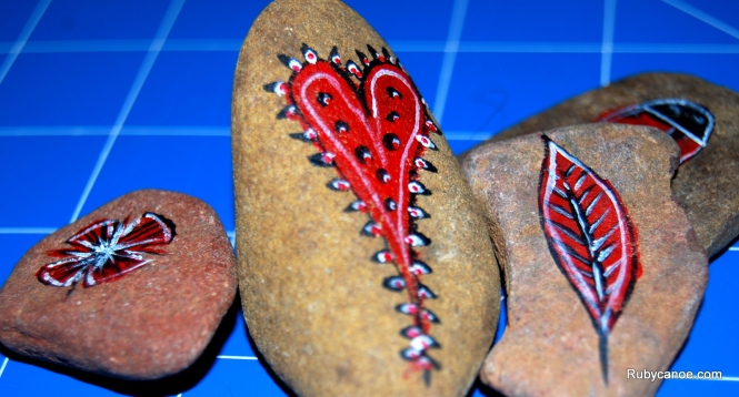 A little rock art...well it keeps me off the streets!