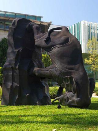 Sculpture byMichael Parekowhai