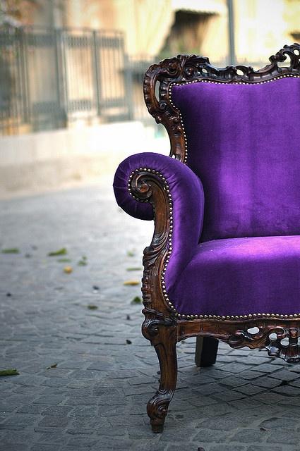 achair purple