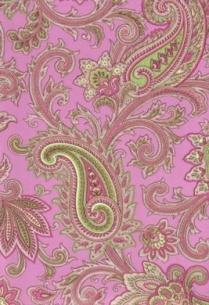 Pink and green paisley wallpaper. http://blinds-wallpaper.net