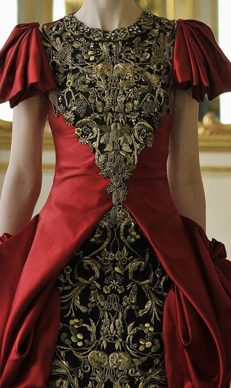 Alexander McQueen brilliance.