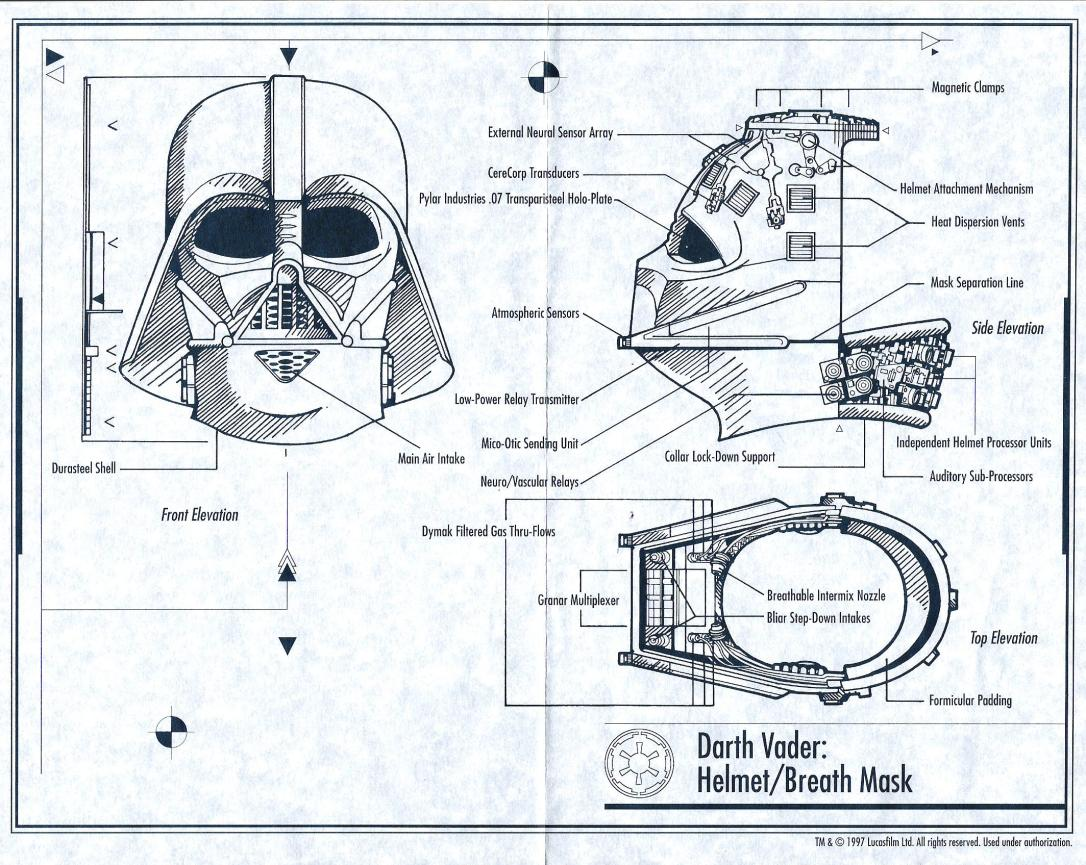 Darth Vader, behind the mask.  Available on Amazon as a print.