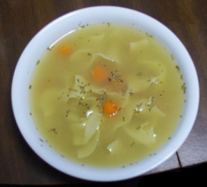 This is not packet soup, it just looks yummy.