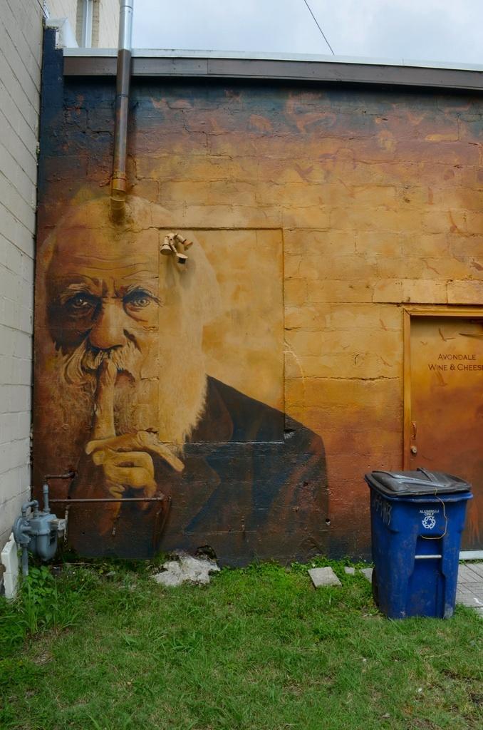 One of my favourites.  Darwin.