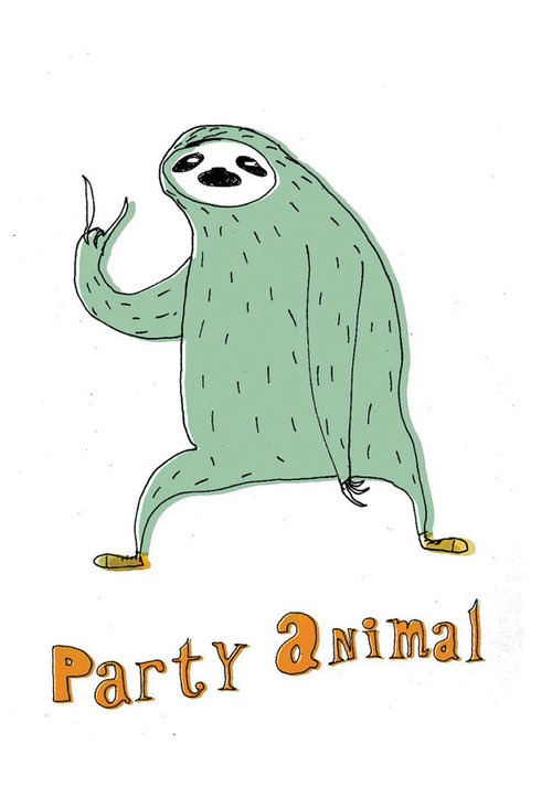 By Lukaluka.  Party on Sloth!