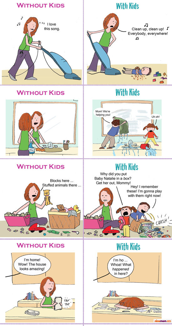 Great graphic from Nickmom.com