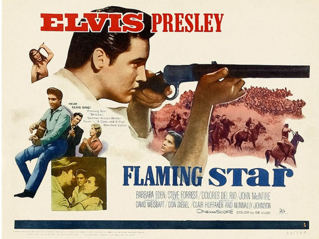elvis month day 6 flaming star 1960 ruby canoe home. Black Bedroom Furniture Sets. Home Design Ideas