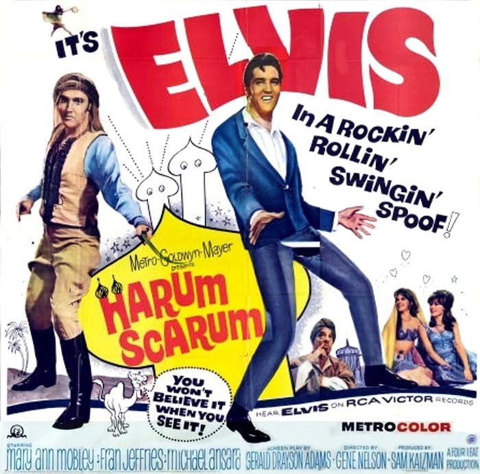 Harum Scarum ELVIS MONTH Day 19 Harum Scarum 1965 Ruby Canoe Design