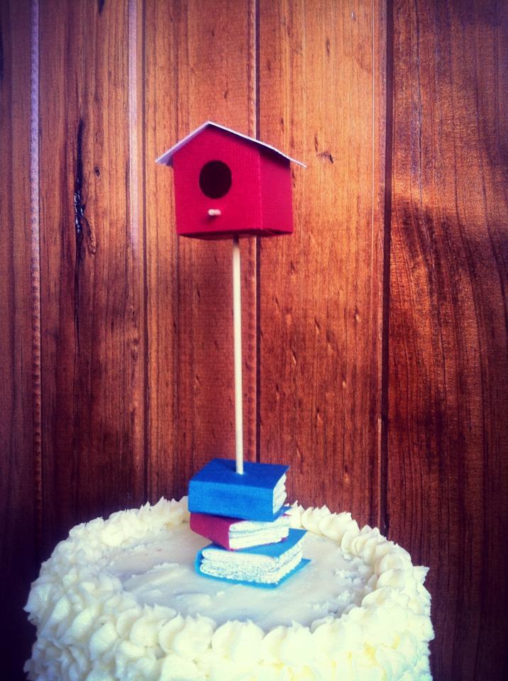 Cake Topper Ruby Canoe Design