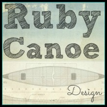 Ruby Canoe Design Logo