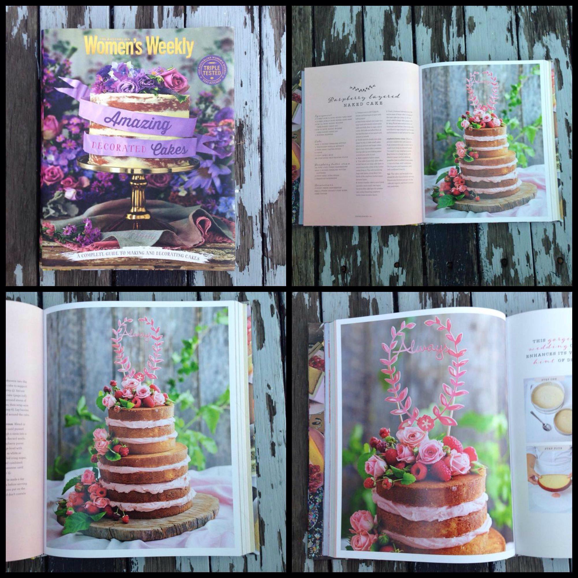 Ruby Canoe Cake Topper In Top Australian Cake Decorating