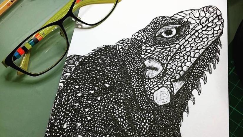 Ruby Canoe Blog - Senor Iguana